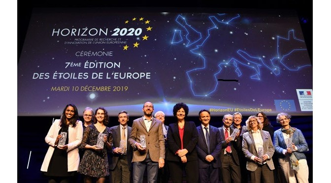 "The ""Ministère de l'Enseignement supérieur, de la Recherche et de l'Innovation"" has awarded the ""Stars of Europe"" trophy to the European project iSwitch and to Paolo Samorì, its coordinator ."