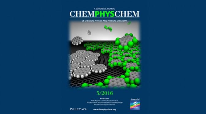 Enhancing 2D self-assembly on graphene by  chemical functionalization