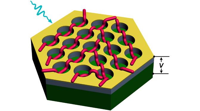 Des nanofils supramoléculaires intégrés dans des dispositifs nanostructurés pour une photodétection rapide