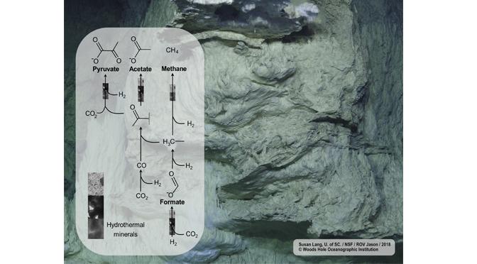 Quand les roches posent les bases de l'origine de la vie