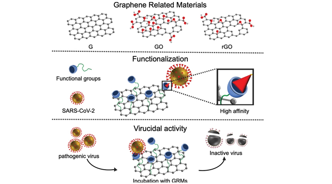 Graphene: A Disruptive Opportunity for COVID‐19 and Future Pandemics?